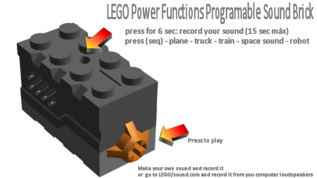 "nuno2500's Idea for Lego ""Programmable Sound Brick"" - LEGO Technic ..."