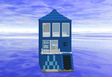 Blue Modular Apartment