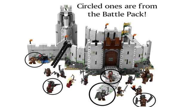 lego lord of the rings orc battle pack