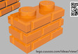 Profile Brick (brick pattern) new part design.