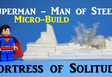 Superman Fortress of Solitude Microbuild