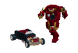 Tony Stark's Ford Flathead Roadster and Hulkbuster Armor