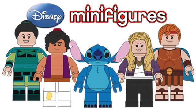 Disney Minifigures