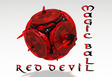 Magic ball : Red devil