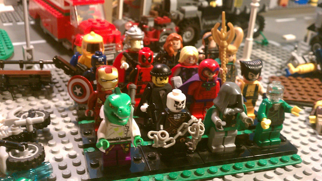 LEGO® CUUSOO | Lego Marvel Comics Mini figure Series