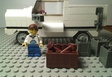 Lego White Pick Up Truck
