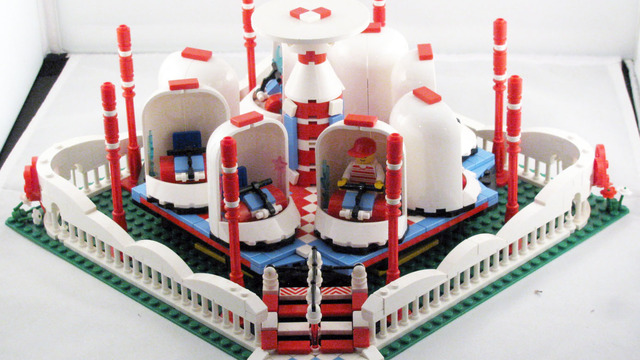 The Motorized Twist And Whirl Amusement Park Ride A Lego