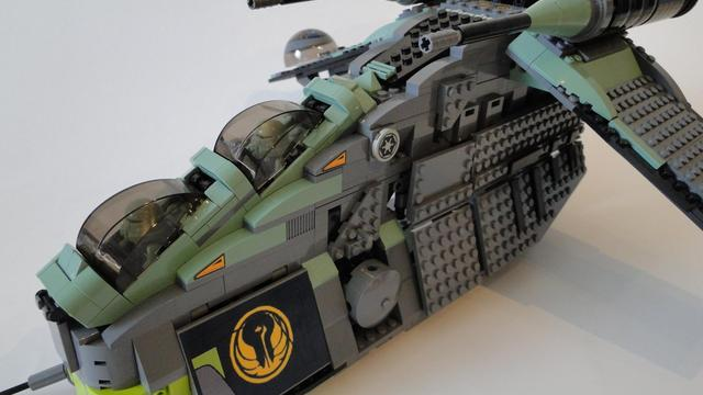 Kashyyyk-Gunship 7676 UCS - Custom Star Wars