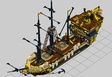 French Imperial Ship - Pirates Collection