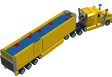 Lego truck (#3221, lego city truck re-render)