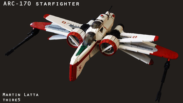 ARC-170 starfighter UCS