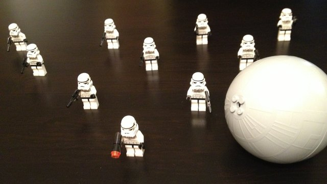 Death Star Bowling, Star Wars