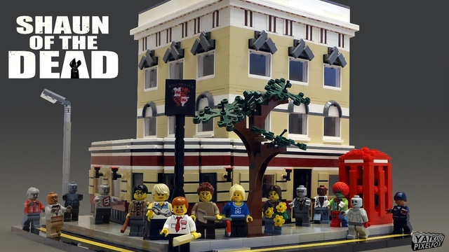 Lego Shaun Of The Dead Winchester Pub Instructions