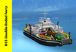 UCS Double-Ended Ferry (loaded with vehicles and features!)