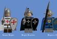 Medieval Realistic Knights