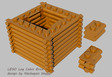 Log Cabin Bricks New Parts Design