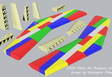 Airplane Spacecraft Wing New brick design