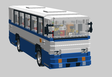 Polish bus: Autosan H9-21 in scale 1:25