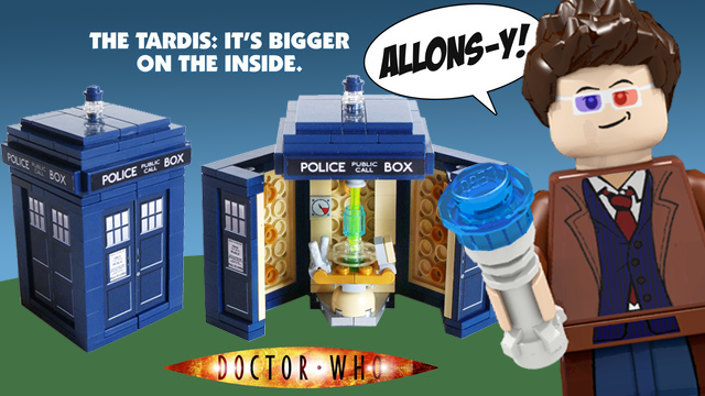 10th Doctor's TARDIS