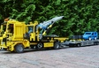 Renault car truck + car trailer wagon
