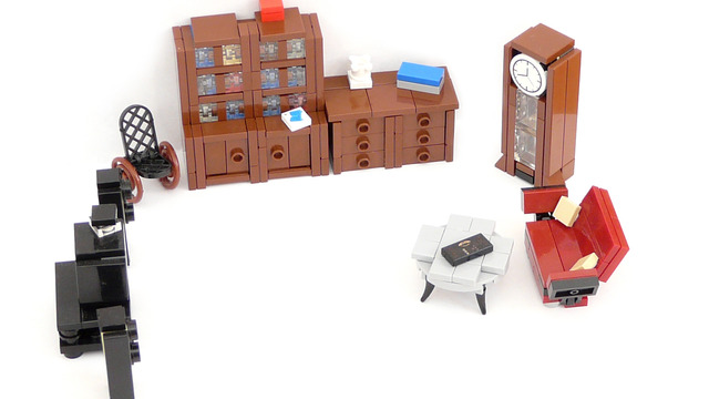 Cuusoo of the Week: Minifig furniture - living room by