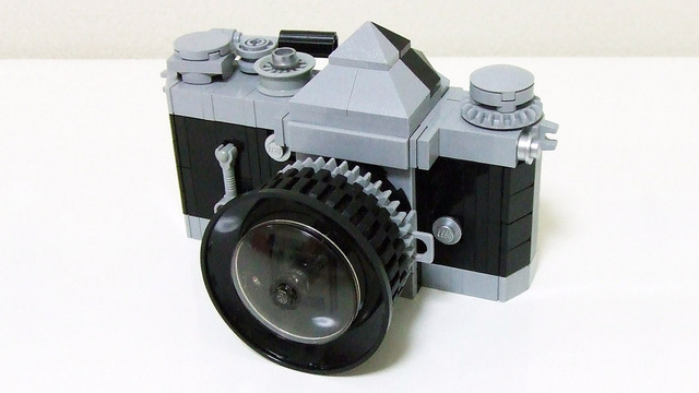 Lego Minifig Camera : Reflex camera by suzuki also mini shops series approaching k